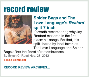 Spider Bags and The Love Language's Reatard split 7-inch